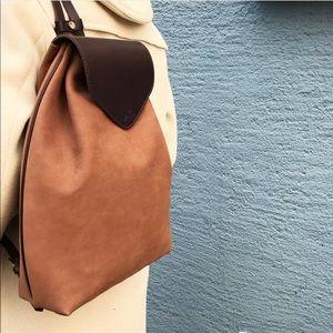 Handbags - Nubuck Leather Backpack